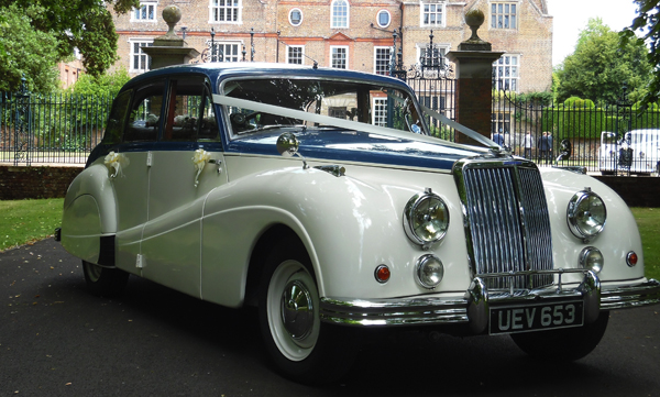 Armstrong Siddeley Sapphire hire Kent - Wedding Car Hire Kent
