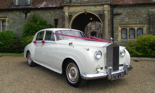 Rolls Royce Silver Cloud I hire Kent - Wedding Car Hire Kent