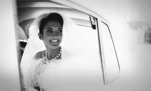 Brides and Grooms with cars