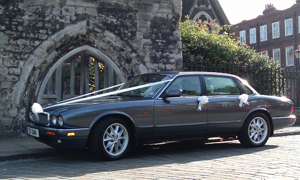Jaguar XJ6 hire Kent - Wedding Car Hire Kent